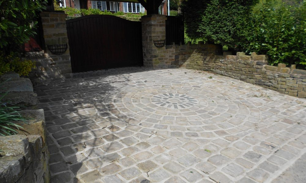 Natural Stone Driveways David Smith Excavations